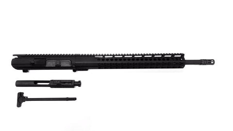 "308 Complete Upper Kit, 18"" Barrel and 15"" Keymod Rail/Tactical Equipment Armory"