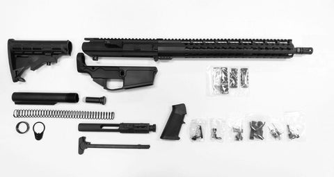 "308 Complete Rifle Kit, 16"" Phosphate Barrel and 15"" Keymod Rail, Assembled/Tactical Equipment Armory"