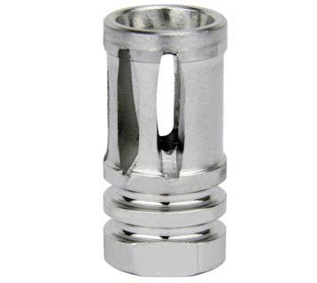 ".308 5/8""X24 THREAD BIRD CAGE MUZZLE BRAKE/STAINLESS STEEL"