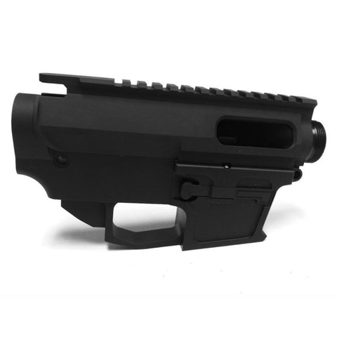 9MM 80% Lower Receiver and Upper Receiver Set Black/Tactical Equipment Armory