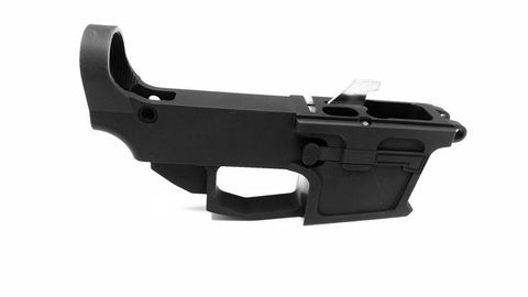 9MM 80% Lower Receiver Black/Tactical Equipment Armory
