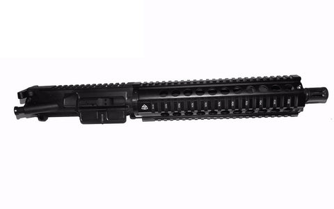 "AR15 Pistol Upper Kit 10"" Quad Rail, 10.5"" Phosphate Barrel/Tactical Equipment Armory"