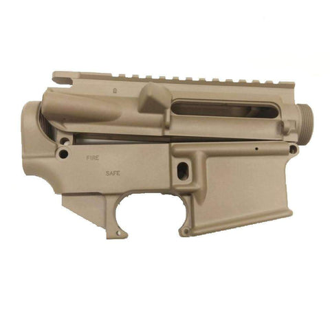 AR15 Upper Receiver and 80% Lower Receiver Set Flat Dark Earth/Tactical Equipment Armory