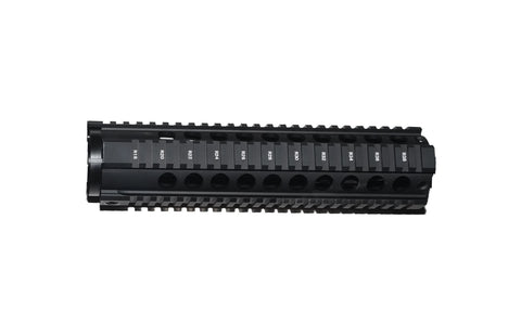 "10"" Free Float Hand Guard/Quad Rail/Tactical Equipment Armory"