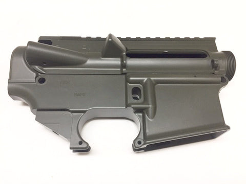 80% Lower Receiver AR15 and Complete Stripped Upper Receiver-OD GREEN Cerakote/Tactical Equipment Armory