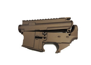 80% Lower Receiver AR15 and Complete Stripped Upper Receiver Set Bronze Cerakote/Tactical Equipment Armory