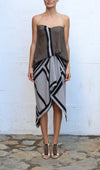 MISSONI Knit Multi Color Evening Dress Size 40