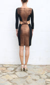 FRANK TELL Copper Pencil Cocktail Dress Size S