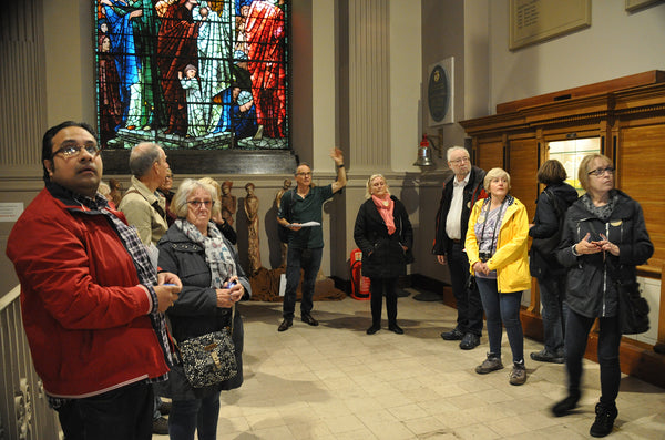Wednesday 3rd June Walking Tour No. 2 - Chamberlain Square to the Bull Ring. from the Musuem steps in Chamberlain Square