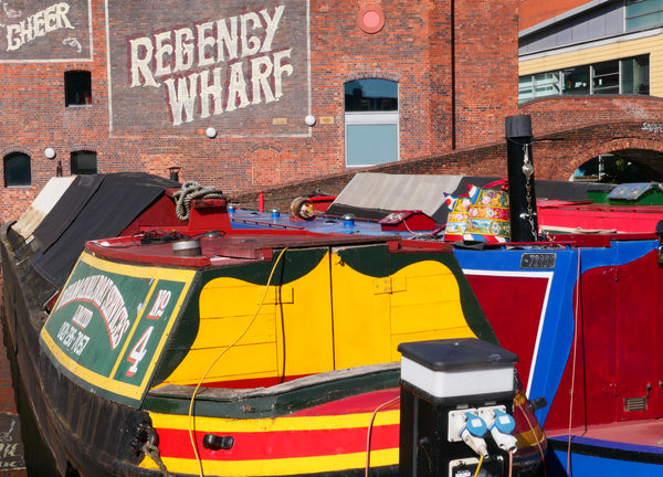 Self-Guided & Virtual Walking Tour: Birmingham - Centenary Square and Canals