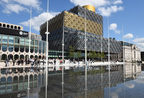 Self-Guided & Virtual Walking Tour of Birmingham - Centenary Square and Canals