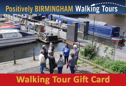 Gift Card for a Positively Birmingham Walking Tour
