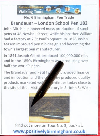 No. 6 - Brandauer - London School Pen