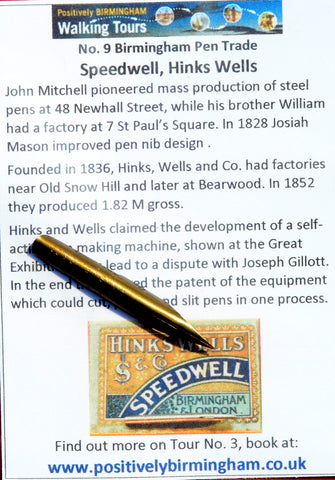 No. 9 - Hinks Wells - Speedwell No. 431 SS