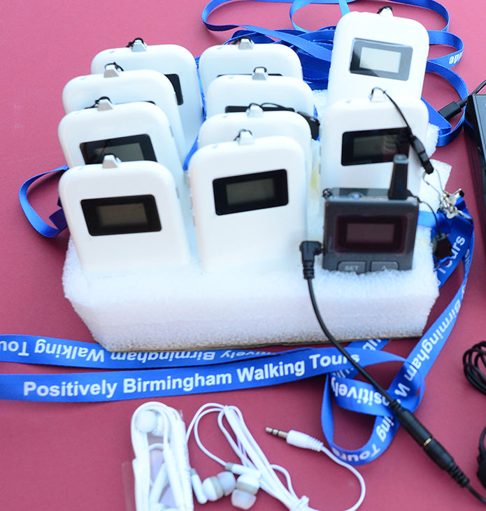 10 PBA Audio Starter Pack - Light Use by our Positively Birmingham Walking Tour