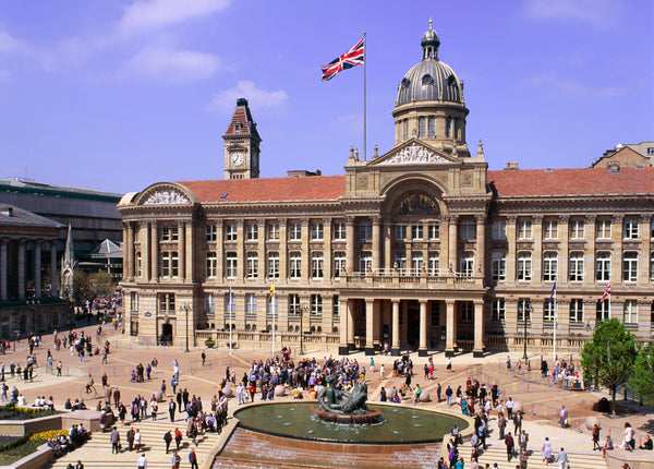 Self-Guided & Virtual Walking Tour - Birmingham's Central Squares