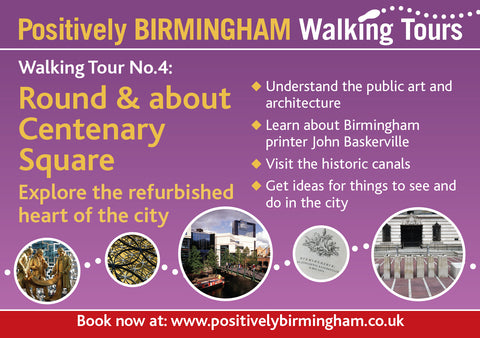 THURSDAY 3rd 8th October 2020, 12:00-13:00. Walking Tour No. 4. - Round & about Centenary Square