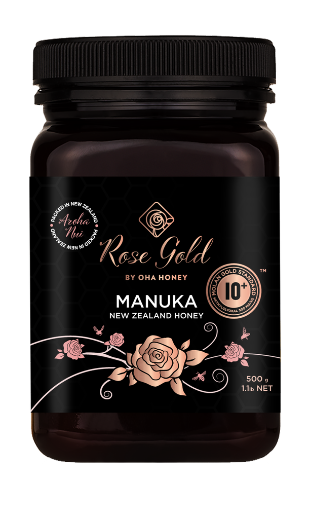 Rose Gold Manuka Honey MGS 10+