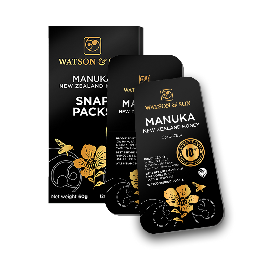 Watson & Son Manuka Honey Snap Packs