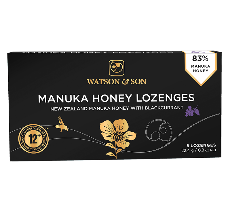 Watson & Son Manuka Honey Lozenges with Blackcurrant