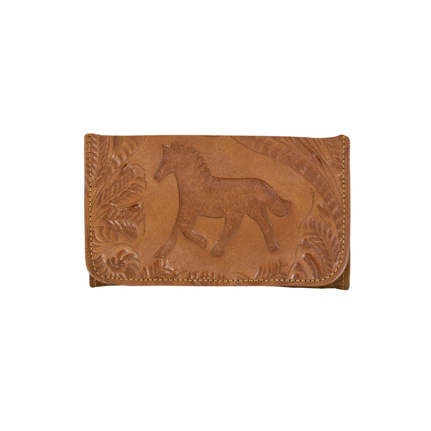 Hitchin' Post Ladies' Tri-Fold Wallet