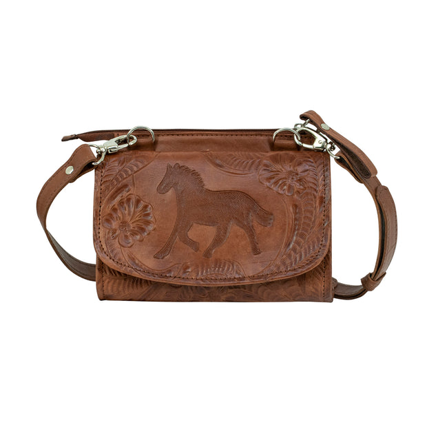 American West Hitchin' Post Texas Two Step Crossbody