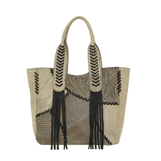 American WestGypsy Patch Large Zip-Top Tote