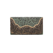 American WestSaddle Ridge Ladies' Tri-Fold Wallet