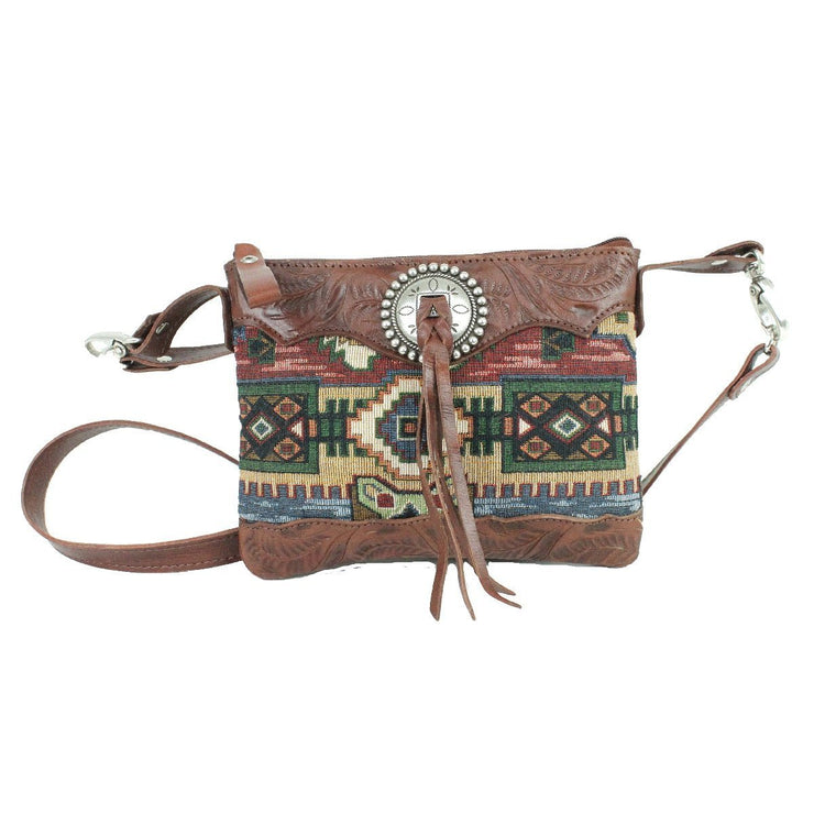 American WestBella Beau  Trail Rider Crossbody/Hip Bag