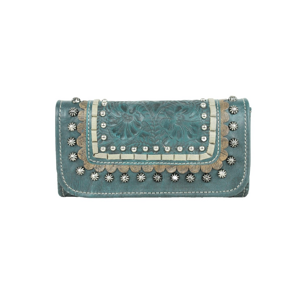 American WestBlue Ridge Ladies' Tri-Fold Wallet