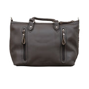 Cow Town Large Zip-Top Satchel w/ Secret Compartment