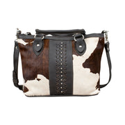 Cow Town Small Zip-Top Convertible Satchel