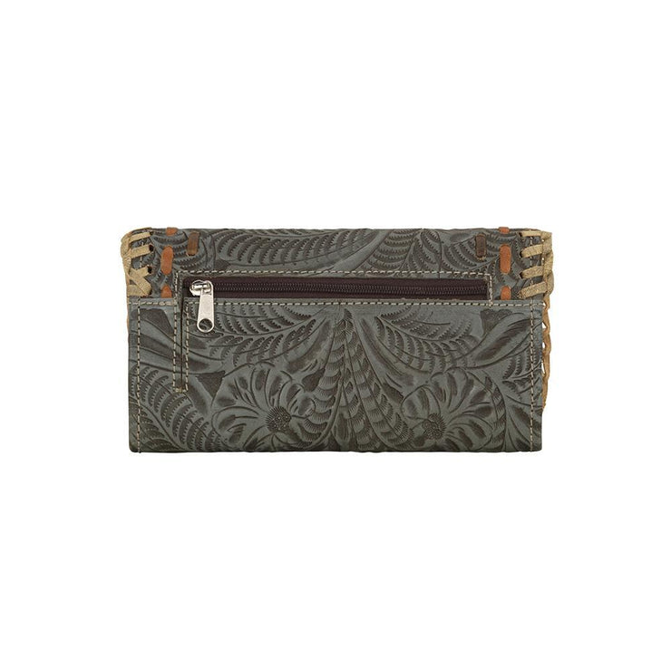 American WestMesilla Collection Tri-Fold Wallet