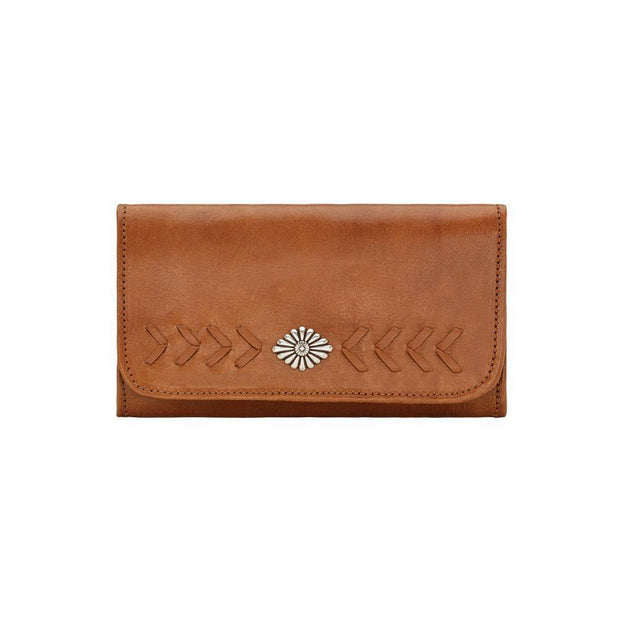 American WestMohave Canyon Ladies' Tri-Fold Wallet