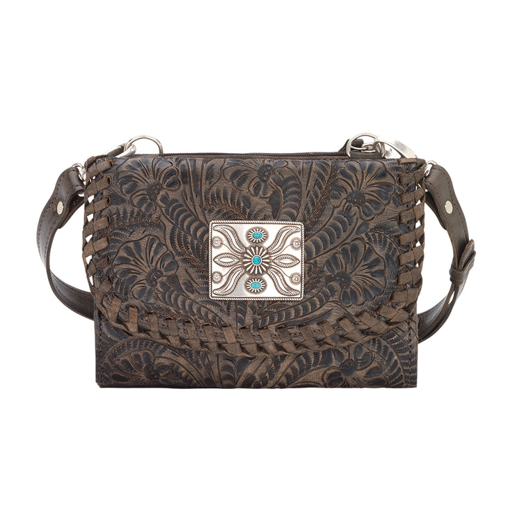 American WestTexas Two Step Small Crossbody Bag/Wallet