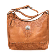 Harvest Moon Collection Shoulder Bag With Secret Compartment