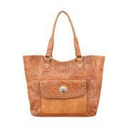 Harvest Moon Collection Large Zip Top Tote With Secret Compartment