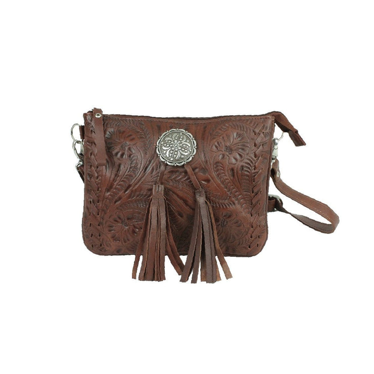 American WestLariats & Lace  Multi-Compartment Crossbody