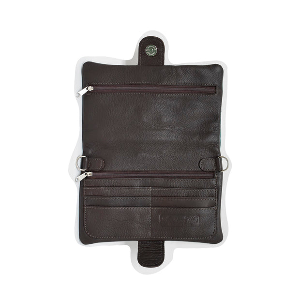American WestGrab-And-Go Foldover Crossbody
