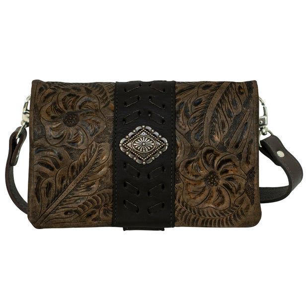 Large Grab-And-Go Foldover Crossbody