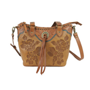 American WestTexas Rose  Small Bucket Tote