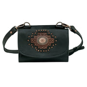 Midnight Copper Texas Two Step Crossbody/Wallet Bag