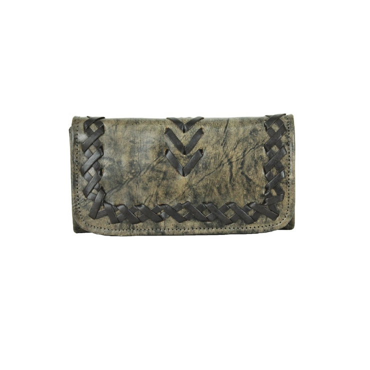 American WestWood River Ladies' Tri-Fold Wallet
