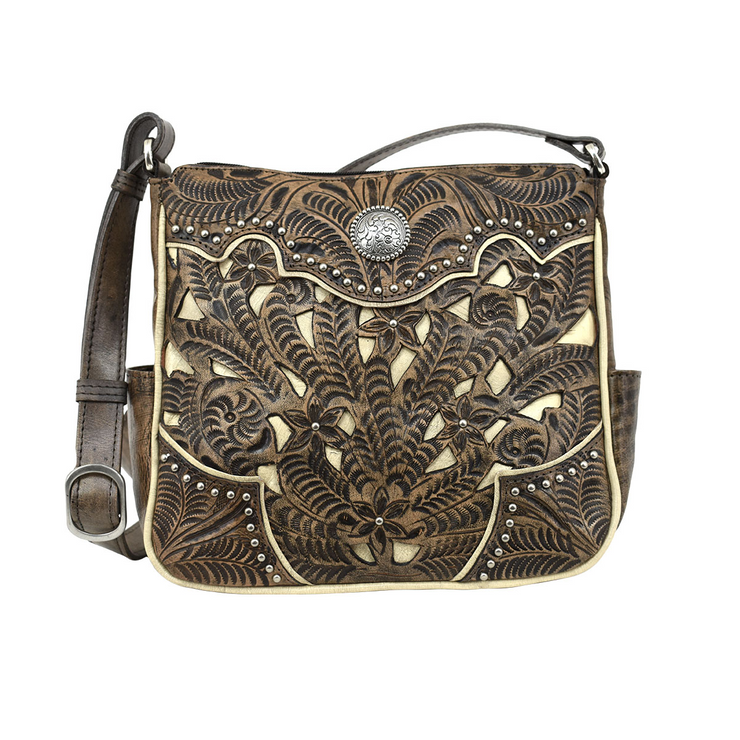 American WestInlay Eagle  Messenger Bag