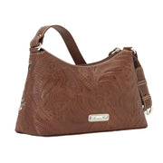 American WestLady Lace Zip-Top Shoulder Bag