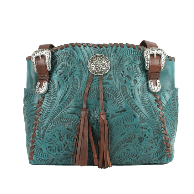American WestLariats & Lace Tote W/Secret Compartment