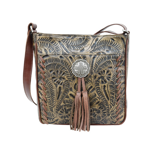 American WestLariats & Lace  Messenger Bag