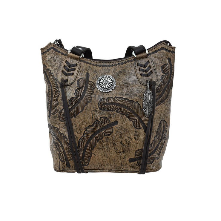 American WestColorful Sacred Bird  Bucket Tote