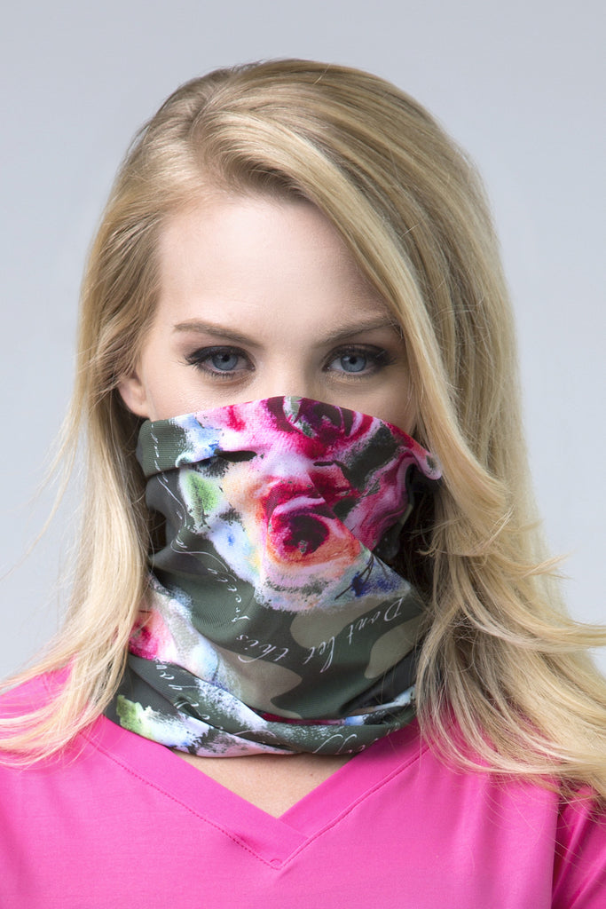 Wild Rose Army Multifunctional Mask