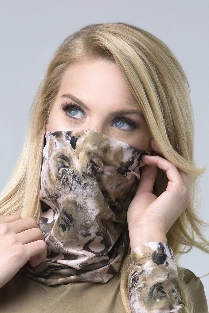 Wild Rose Camo Multifunctional Mask